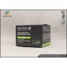 Buy cheap Custom Luxury Black Folding Carton Packaging For Essence Eye Cream from wholesalers