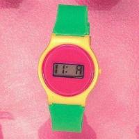 Quality Digital Plastic Watch Available in Various Color Combinations for sale