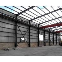 Quality Anti Corrosion Office Or Workshop Steel Structure With Grey Color Paint for sale