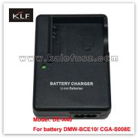 Quality Camera charger DE-A40 for Panasonic camera battery S008E for sale