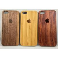 Quality Real Nature wood Case for iPhone 5 5S 6 6s 6Plus 7 Walnut Bamboo rosewood for sale