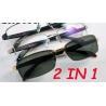 Buy cheap 9008 Metal Optical Eyewear Eyeglasses Frame Acetate Temples from wholesalers