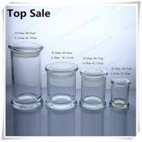 Best a series of different size glass jars for candles in stock wholesale
