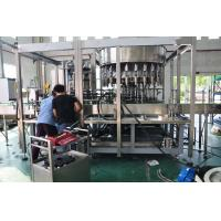 Quality Double Heads Semi Automatic Gallon Filling Machine , Bottled Water Production Line for sale