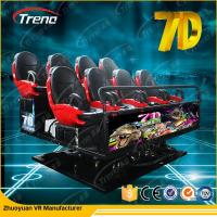 Quality Professional Large 7D Cinema 3 dof Electric Platform Cinema With Special Effect for sale