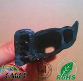 Mechanical rubber seal strip gaskets