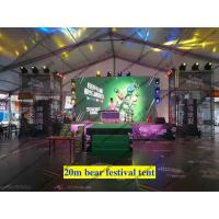 Quality Aluminum Structure Flame Retardant Outdoor Event Tents / Clear Span Party Tent for Tuborg Festival or Wedding Event for sale
