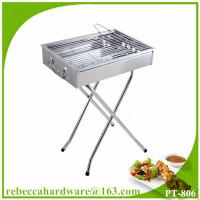 Quality Quality Safety Square BBQ Charcoal Grill with X-shape Legs for sale