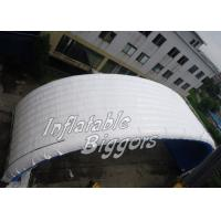 Quality PVC Vinyl White Inflatable Giant Tent / Inflatable Marquees Fire-Resistant for sale