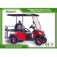 Quality 4 Seater Red Electric Golf Carts club car 4 seater electric golf cart for sale