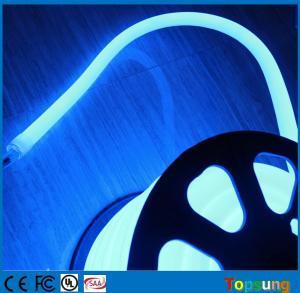 China 16mm 360 degree round led neon tube blue flexible decoration lights 24V on sale