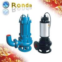 Quality Submersible Non Clog Sewage Pump for sale