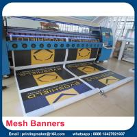 China Mesh Printed PVC Banners With Metal Eyelets on sale
