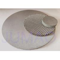 Quality Stainless Steel Sintered Filter Disc 5-3000mm Diameter For Pharmacy Industry for sale