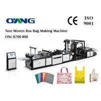 Quality 15kw Power Auto PP Non Woven Bag Making Machine 100 Pcs / Min Speed for sale