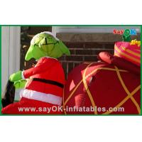 Best Promotional Inflatable Christmas Decoration With A Dog , Oxford Cloth or PVC wholesale