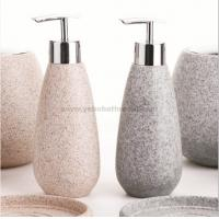 Best resin bathroom sets-soap dispenser wholesale
