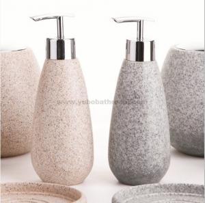 Quality resin bathroom sets-soap dispenser for sale