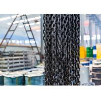 China EN818-2 G80 Lifting Anchor Chain , Alloy Steel Black Oxidation Lifting Chain on sale