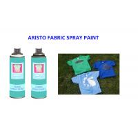 China Washable 200ml Fabric Spray Paint Spray for T Shirt UV Resistance and Fast Drying on sale