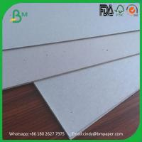 China 1000gsm 1200gsm 1500gsm 2000gsm grey chip board solid grey card board on sale