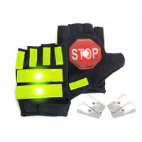 China Driving Mitts Reflective Traffic Control Gloves , Traffic Police Gloves on sale