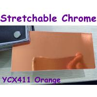 Quality Stretchable Chrome Mirror Car Wrapping Vinyl Film - Chrome Orange for sale