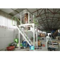 Quality Garbage Bag Plastic Blown Film Machine Stable Bubble Frame Strong Sealing for sale