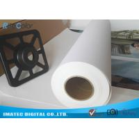 Best High Definition Aqueous Poly Cotton Printable Indoor Inkjet Canvas Roll / Inkjet Canvas Sheets wholesale