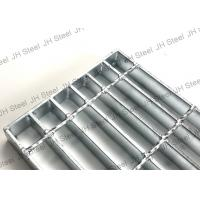 Quality Building Material Galvanized Serrated Grating , Metal Driveway Drainage Grates for sale