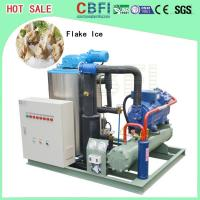 Quality Large Capacity Ice Flakes Making Machine , Commercial Ice Makers 1000 Kg To 60000 Kg for sale