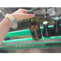 Quality Beer Automatic Filling Machine Soft Drink Plant With Glass Bottles for sale