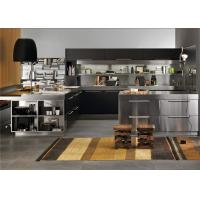 Best Modern Design Commercial Stainless Steel Kitchen Cabinets Doors Passed Ce wholesale