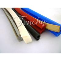 Waterproof Flexible Silicone Seal Strip Dust Resistant , Shore 60A To 90A