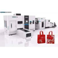 Quality Laminated Nonwoven Fabric Non Woven Box Bag Making Machine Full Automatic for sale