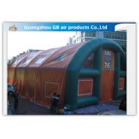 Quality Outdoor Inflatable Army Tent Inflatable Portable Military Shelter With Same Air Chamber for sale