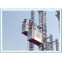 Quality Heavy Double Cage Rack And Pinion Lift , Industrial Elevators And Lifts for sale