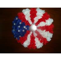 Buy cheap Silk vases Artificial Decorative  Flowers Garlands with the Stars and Stripes Design   from wholesalers
