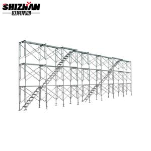 Quality A Frame Building Aluminium Mobile Scaffold Horizontal Pipe 1000kg for sale