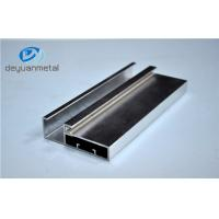 5.98 Meter Silver Polishing Aluminium Extruded Aluminium Profiles For Decoration With Cutting