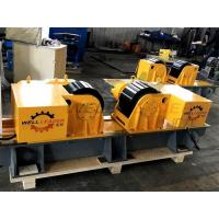 Quality 30 Ton Self Centering Conventional Welding Rotator Pipe Turning PU Rollers for sale