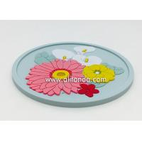 Quality OEM Wholesale Custom Soft Rubber PVC Coaster for promotional gifts for sale