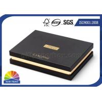 Best Upscale Custom Rigid Paper Gift Box Packaging Hot Stamping For Cosmetics wholesale