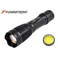 China CREE XM-L T6 Zoom LED Flashlight Working with 18650 Li-ion battery or 3xaaa on sale