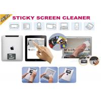 China Smartphone Microfiber Sticky Screen Cleaner , Sticky Sticker For Promotional Gift on sale