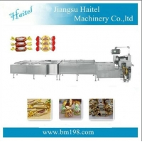 Quality PLC Twist Automatic Chocolate Packing Machine 360bags/Min for sale