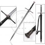 "Quality 51.5"" Video Game Swords Witcher 3 Wild Hunt Geralt Decorative Metal Long Sword for sale"