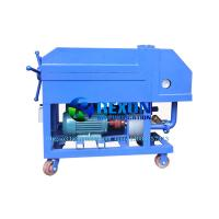 Quality Portable Non-Heating Plate Pressure Oil Purifier Machine for Oil Recycling for sale