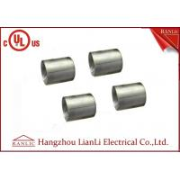 Quality 1-1/4 inch 1-1/2 inch Electro Galvanized IMC Coupling 3.0mm Thickness Inside Thread for sale