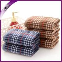 Quality pure cotton yarb dyed jacquard hand towel for sale